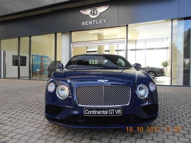 Bentley Continental Gt V8 Used Car For Sale In Athens